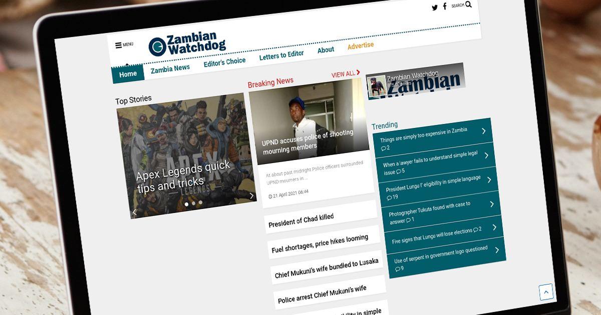 photo - Zambian Watchdog