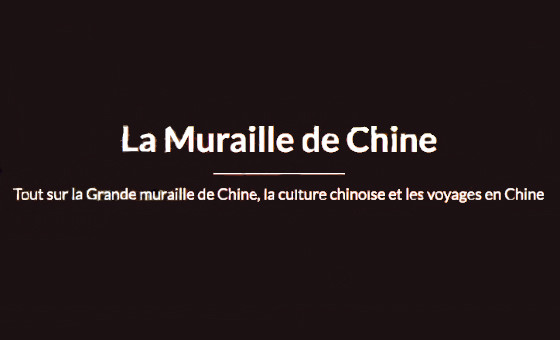 How to submit a press release to La Muraille de Chine