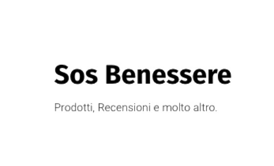 How to submit a press release to Sos Benessere