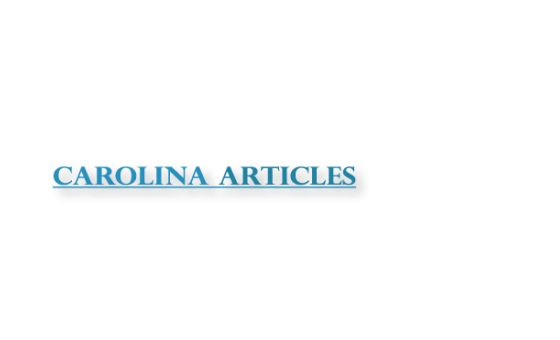 Carolinaarticles.com