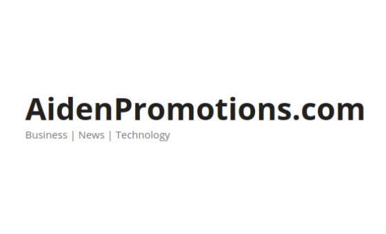 Добавить пресс-релиз на сайт AidenPromotions.com