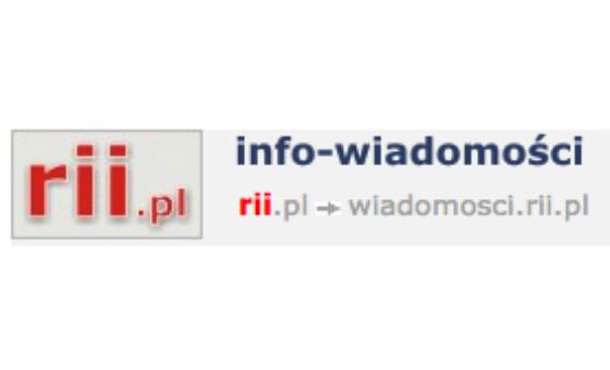 Добавить пресс-релиз на сайт Wiadomosci.rii.pl