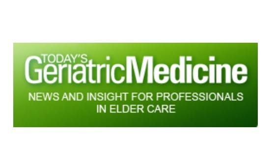 Добавить пресс-релиз на сайт Today's Geriatric Medicine