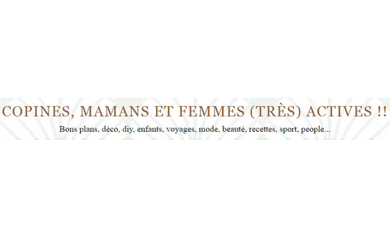 How to submit a press release to Copines, Mamans et Femmes (très) actives