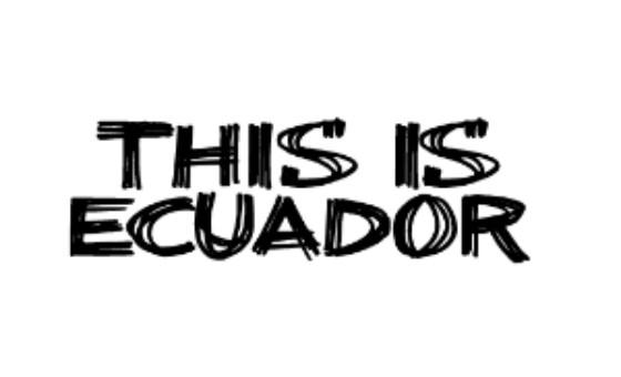 Добавить пресс-релиз на сайт This is Ecuador