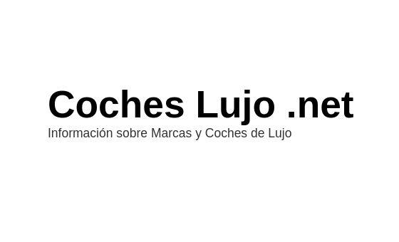 Добавить пресс-релиз на сайт Coches Lujo
