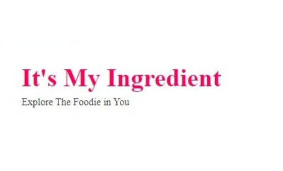 Itsmyingredient.com