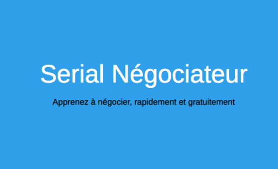 How to submit a press release to Serial négociateur